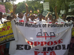 Photo from the Dehli Network of Positive People