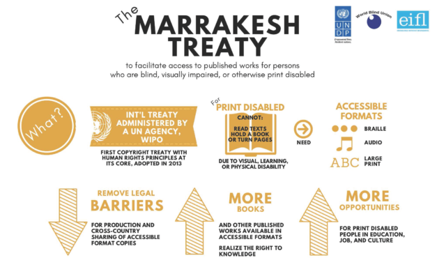 Call on Asia-Pacific Region: Join Marrakesh Treaty